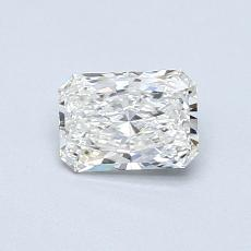 Recommended Stone #4: 0.54-Carat Radiant Cut Diamond