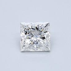 Recommended Stone #2: 0.50-Carat Princess Cut Diamond