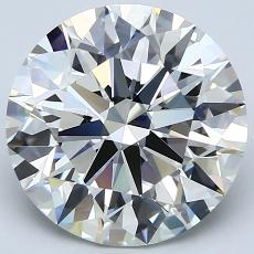 Recommended Stone #3: 4.11-Carat Round Cut Diamond
