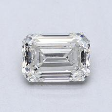 Recommended Stone #2: 0.85-Carat Emerald Cut Diamond