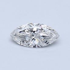0,35-Carat Marquise Diamond Very Good G SI2