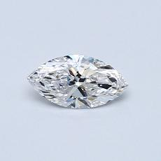 Recommended Stone #4: 0.31-Carat Marquise Cut Diamond