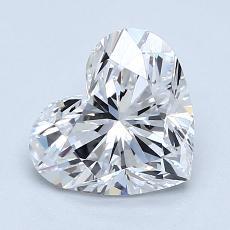 推薦鑽石 #1: 1.50 克拉心形切割鑽石
