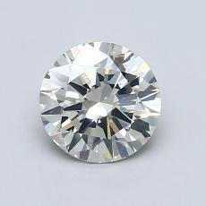 0.96 Carat 圆形 Diamond 非常好 K SI2