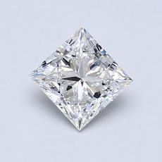 Recommended Stone #2: 0.73-Carat Princess Cut Diamond