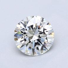 1.00-Carat Round Diamond Ideal H VS1