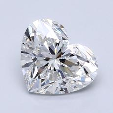 Recommended Stone #3: 1.50-Carat Heart Cut Diamond