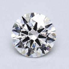1.20-Carat Round Diamond Ideal I VVS2