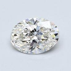 Recommended Stone #1: 0,91-Carat Oval Cut Diamond