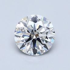 1.01-Carat Round Diamond Ideal D VS2