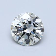 1.01-Carat Round Diamond Ideal I SI1