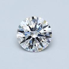Recommended Stone #2: 0.62-Carat Round Cut Diamond