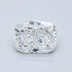 1.00-Carat Cushion Diamond Very Good E VVS2