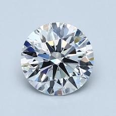 推薦鑽石 #3: 1.12 克拉圓形切割鑽石