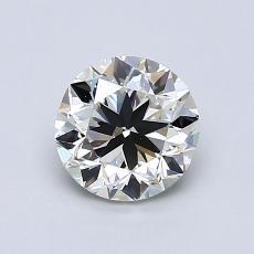 1.00-Carat Round Diamond Good I VVS2