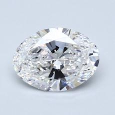 Recommended Stone #3: 1.09-Carat Oval Cut Diamond