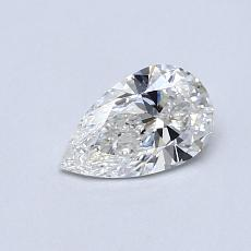 Recommended Stone #2: 0.50-Carat Pear Cut Diamond