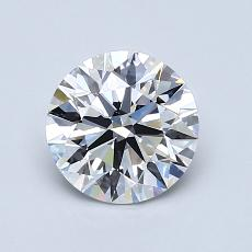 1.10-Carat Round Diamond Ideal E VS1