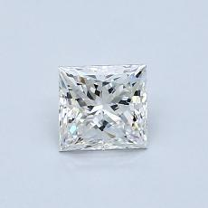 Recommended Stone #4: 0.61-Carat Princess Cut Diamond