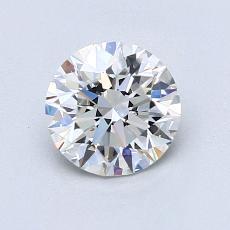 1.00 Carat 圆形 Diamond 理想 G VS2