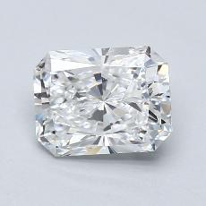 Recommended Stone #4: 2.01-Carat Radiant Cut Diamond