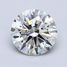 1,10-Carat Round Diamond Ideal I VS2