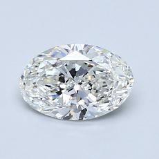 Recommended Stone #2: 0,90-Carat Oval Cut Diamond