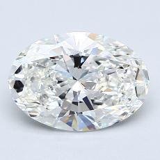 2.00-Carat Oval Diamond Very Good G VS2