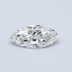 0.34-Carat Marquise Diamond Very Good E VS1