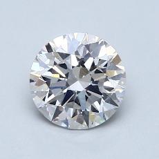 1.13-Carat Round Diamond Ideal F SI2