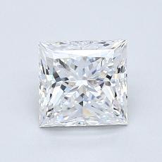 Pierre recommandée n°2: Diamant taille princesse 1,11 carat
