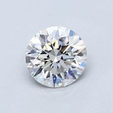 推荐宝石 2:0.80 克拉圆形切割