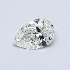 0.51-Carat Pear Diamond Very Good I VS1