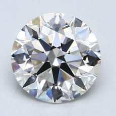2.03-Carat Round Diamond Ideal I VS1