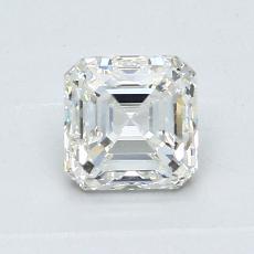 Recommended Stone #3: 0.90-Carat Asscher Cut Diamond