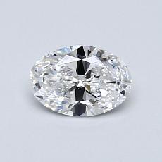 推薦鑽石 #2: 0.61 克拉橢圓形切割鑽石