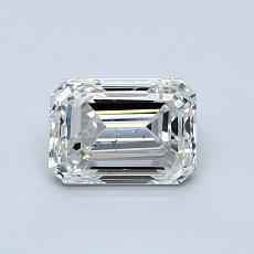 Recommended Stone #1: 0.90-Carat Emerald Cut Diamond