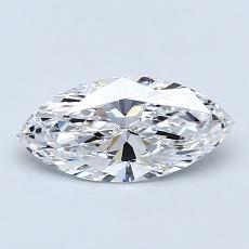 0,72-Carat Marquise Diamond Very Good D IF