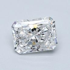 Pierre recommandée n°3: Diamant Taille radiant de 1,50carat