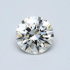 0.80-Carat Round Diamond Ideal K VS2