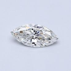 0.50-Carat Marquise Diamond Very Good G SI1
