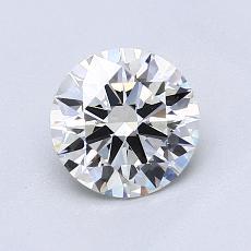 1.01-Carat Round Diamond Ideal I VS1