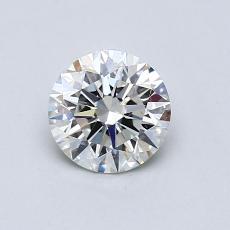 0.75 Carat 圆形 Diamond 理想 I VS2