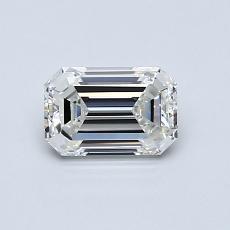 0.71-Carat Emerald Diamond Very Good H VVS1