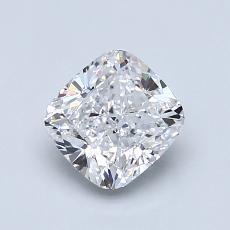 1.04 Carat 垫形 Diamond 非常好 D VS2