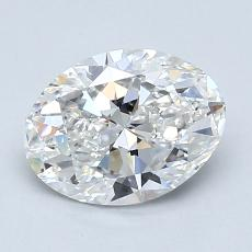 Recommended Stone #1: 1,20-Carat Oval Cut Diamond