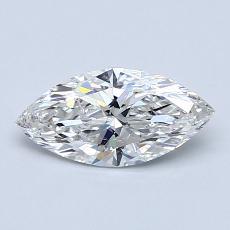 0.70-Carat Marquise Diamond Very Good F SI2