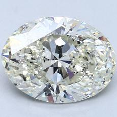 3.01-Carat Oval Diamond Very Good K SI2