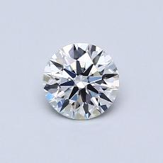 Recommended Stone #2: 0.50-Carat Round Cut Diamond