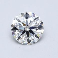 0.76 Carat 圆形 Diamond 理想 E VS2